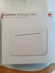 HUAWEI 4G Router 3 Pro B535-232 300 Mbps Router - White (Unlocked)