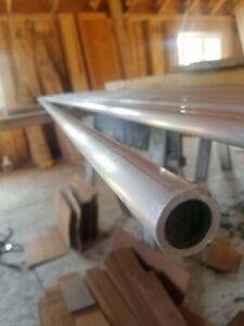"1"" OD x 1/8"" Wall 6063  Aluminum Round Tube price per foot"