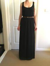 Zara Black Maxi dress XS $35