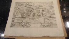 CIRCA 1615 COPPER ENGRAVING OF ZUTPHEN & SURROUNDINGS - JAN ORLERS