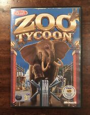 Zoo Tycoon PC game - 2001 - retro classic - includes manual