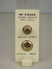 Agilent / HP 81536A Optical Power Meter Module for HP 8153A (800-1700 nm)