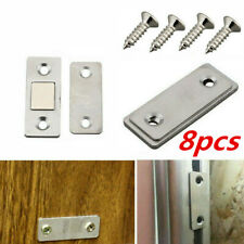 8Pcs Strong Magnetic Catch Latch Ultra Thin For Door Cupboard  Cabinet Closer