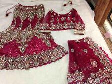 WEDDING & BRIDAL LEHENGA CHOLI NEW INDIAN BOLLYWOOD DESIGNER LEHENGA