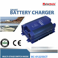 Motormate AC-DC 12V 25A power supply and fully automatic 4 stage battery charger
