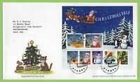 G.B. 2012 Christmas miniature sheet on Royal Mail First Day Cover Tallents House