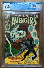 Avengers #62 1st Appearance of M'Baku New Black Panther MCU CGC 9.6 1041276008
