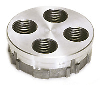 NEW! Lee Precision 4 Hole Turret (Silver) 90269