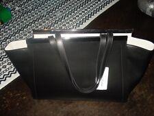 Alberta di Canio Genuine Italian Leather MEGEVE Tote Black NWT/FREE SHIPPING !!!