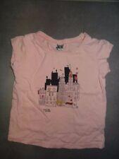 T-shirt rose imprimé manches courtes TAPE A L'OEIL Taille 4 ans