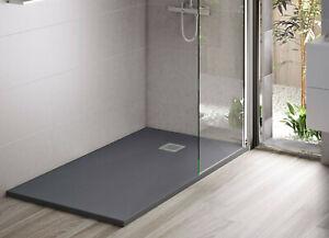 Duschwanne Duschtasse Dusche flach Duschbecken 3cm hoch Mineralguss viele Größen
