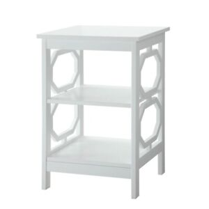 Convenience Concepts Omega End Table, White - 203210W
