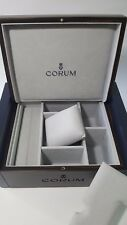 """""""CORUM"""" AuthenticLarge Wooden Brown/Navy Watch Box - Brand New!!!"""