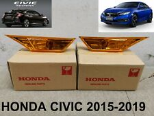 HONDA CIVIC Signal Lights Lamp Side Lens Indicator Genuine Parts 2015-2019 L&R