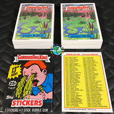 GARBAGE PAIL KIDS 13th SERIES 13 COMPLETE 88-CARD SET 1988+FREE WAX WRAPPER OS13