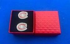Montreal Canadiens Cufflinks Set Hockey Gift Idea (New)