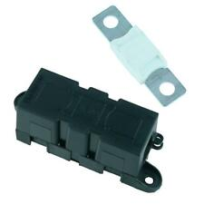 Panel Mount Inline Mega Fuse Holder + 175A Fuse Car Van Marine Truck 12V 24V