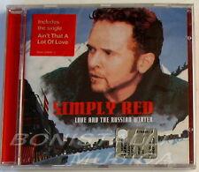 SIMPLY RED - LOVE AND THE RUSSIAN WINTER - CD Sigillato