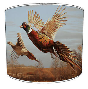 Game Bird Pheasants Hunting Lampshades To Match Quilts Bedspreads Bedding Duvets