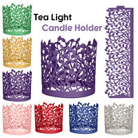 Paper Tree Branch LED Tea Light Candle Holder Wedding Party Home Table Decor