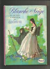 Blanche Neige et autres contes de Grimm (Les grands livres Hachette)