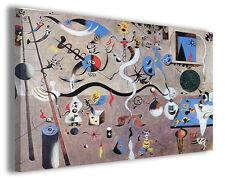 Quadri famosi Joan Mirò vol XII Stampa su tela arredo moderno arte design canvas