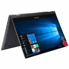 """New listing Asus Flip 14.0"""" Touchscreen 2-in-1 Laptop/Intel i3/4Gb/128Gb Ssd/Win10/Hdmi/Gray"""
