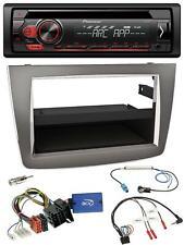 Pioneer MP3 USB CD 1DIN Lenkrad Autoradio für Alfa Mito 955 2008-2014 silber