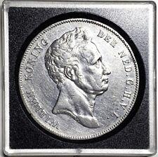 Netherlands Willem I 2½ Gulden ,1840, AU, SCARE!