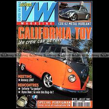 SUPER VW N°215 NOTCHBACK 1500 COCCINELLE COMBI SPLIT DON CHAMBERLIN GOMEZ 2007