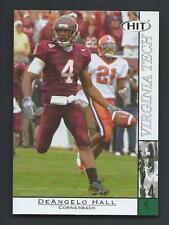 DeAngelo Hall 2004 Sage Hit Rookie Card #40; NM-Mint; Virginia Tech Hokies