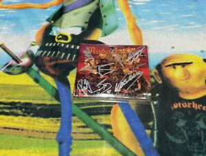 MAGO DE OZ BANDERA NEGRA CD FIRMADO + TARJETA VIP OZ + DIN A4  A100