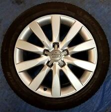 "Audi A4 17"" Alloy Wheels 10 Spoke PCD5x112mm 6Jx17H2 ET47 with Tyre 245/45/R17 1"