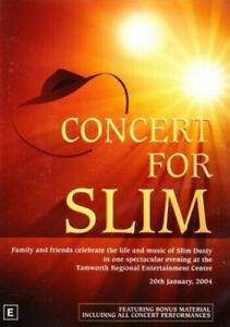 CONCERT FOR SLIM DVD (PAL, 2004) Free Post