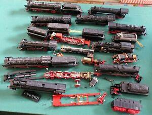 10 Dampflokomotiven Spur H0 für Bastler viel ROCO unbedingt ansehen