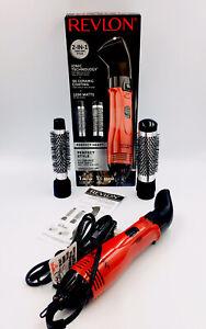 Revlon Perfect Heat Perfect Style 4 Piece Hot Air Ionic Brush Kit Curls & Volume