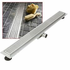 """1500mm Stainless Steel Long """"Rectangular"""" Wetroom / Shower Drainage System"""