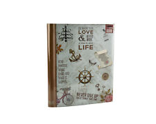 Large Self Adhesive Photo Album Hold Various Sized Picture Up to A4 Slogan Art