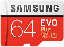 Samsung 64GB 100MBs Memory Evo Plus Micro SD Card with Adapter Amazon Exclusiv