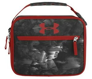 Under Armour lunch box, red/black
