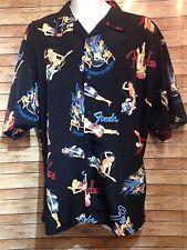 Fender Collection By Davinci Guitar Shirt Size XL