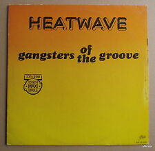 """12"""" Maxi-HEATWAVE-Gangsters of the groove"""