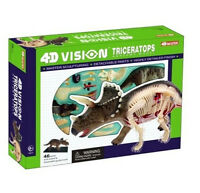 TRICERATOPS ANATOMY MODEL/PUZZLE, 4D Vision Kit #26093  TEDCO SCIENCE TOYS
