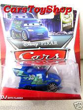 Disney Cars DJ with Flames Mattel Tuners BLUE Bad Boys Sports TOY Pixar Movie