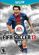 FIFA Soccer 13 (Nintendo Wii U, 2012) Disc & case Messi Football