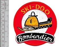 Snowmobile Ski-Doo Bombardier 1964 65 Promo Valcourt, QC Patch Medium Gold large