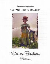 Dress Pattern fits 15.5 Couture Clothes Fashion dolls Kitty Collier