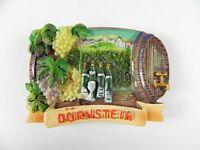Dürnstein Wein Weinfaß Österreich Souvenir Magnet Poly 3D Optik,6,5 cm,Austria