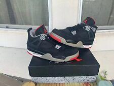 Air Jordan IV 4 Retro Black Cement BRED 2012 308497-089 Size 10
