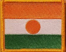 Republic Niger Military Patch With VELCRO® Brand Fastener Gold Border #2